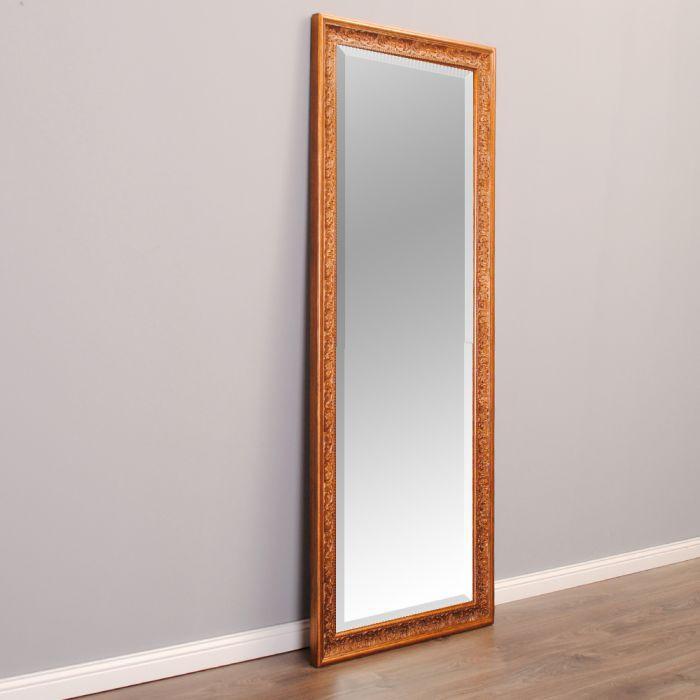 wandspiegel fiora barock pomp s spiegel 130x50cm bronze antik holzrahmen ebay. Black Bedroom Furniture Sets. Home Design Ideas
