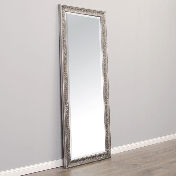 spiegel fiora barock antik silber 130x50cm 5235. Black Bedroom Furniture Sets. Home Design Ideas