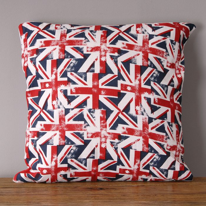 kissen dekokissen inkl f llung 42x42cm union jack 5434. Black Bedroom Furniture Sets. Home Design Ideas