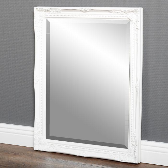 spiegel gracy barock wei 50x40cm 5459. Black Bedroom Furniture Sets. Home Design Ideas