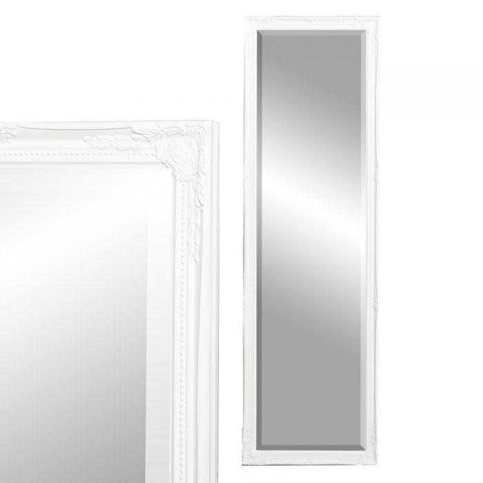 wandspiegel barock 130x40cm cm spiegel weiss gracy. Black Bedroom Furniture Sets. Home Design Ideas