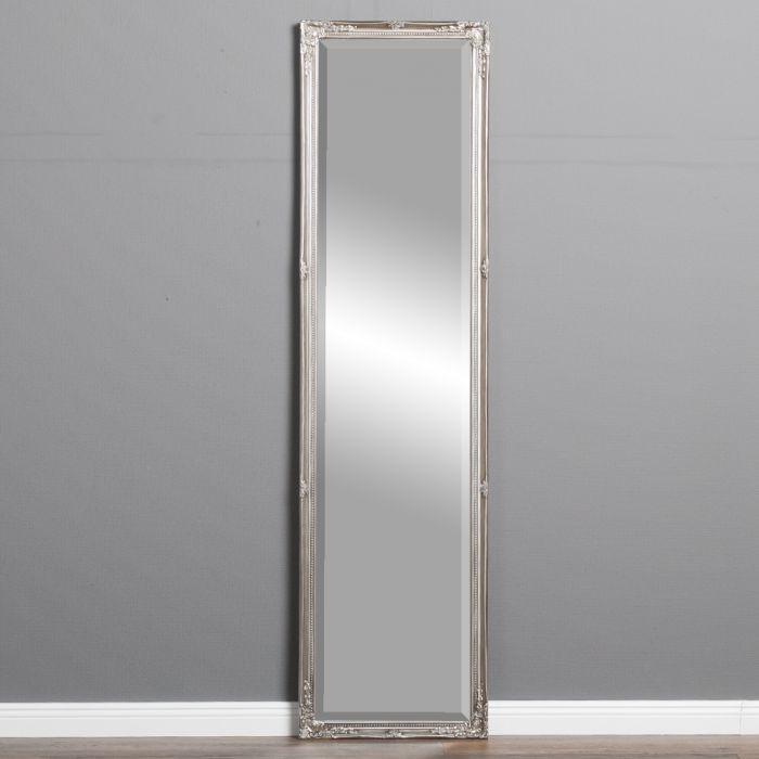 spiegel gracy barock antik silber 150x40cm 5462. Black Bedroom Furniture Sets. Home Design Ideas