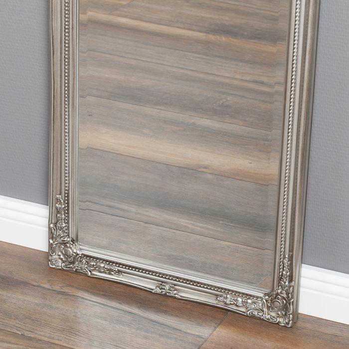 spiegel gracy barock antik silber 170x40cm 5464. Black Bedroom Furniture Sets. Home Design Ideas