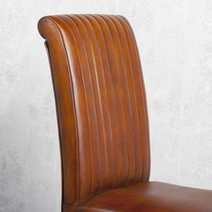 Designer esszimmerstuhl im vintage stil houston aus for Designer esszimmerstuhl
