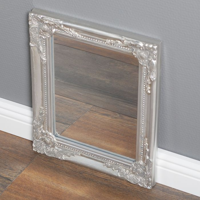 Gro Er Wandspiegel barock spiegel silber spiegel silber barock spiegel silber landhaus barock spiegel silber