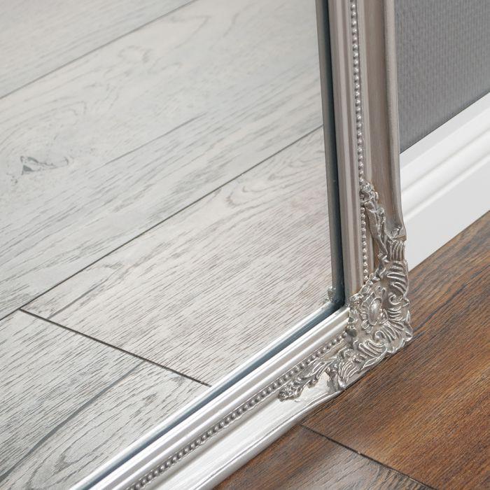 spiegel barock silber 27x32cm 5524. Black Bedroom Furniture Sets. Home Design Ideas