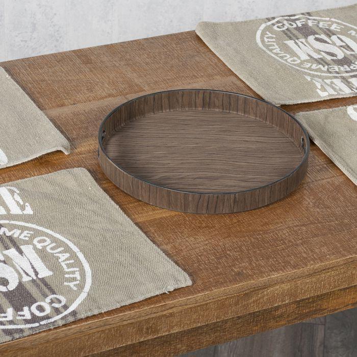 rundes designer tablett lenny 35cm 5549. Black Bedroom Furniture Sets. Home Design Ideas