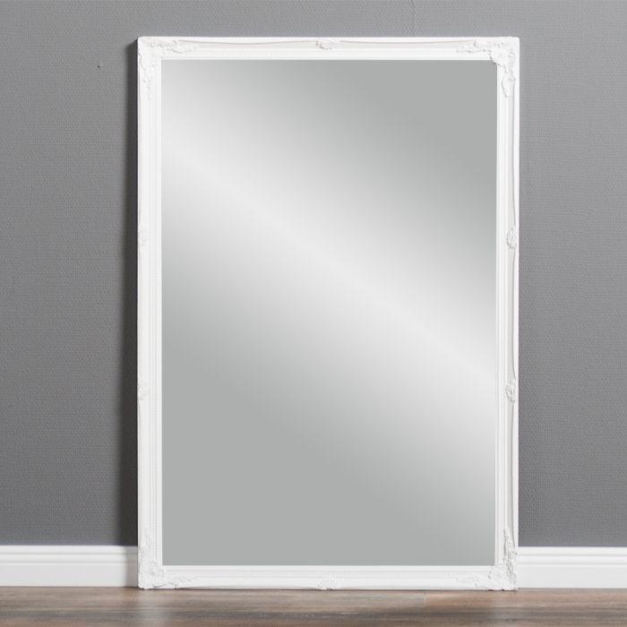 spiegel 67x97cm wandspiegel barock wei barock holzrahmen. Black Bedroom Furniture Sets. Home Design Ideas