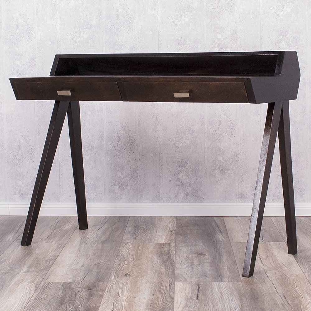 schreibtisch balram palisander walnut 5607. Black Bedroom Furniture Sets. Home Design Ideas