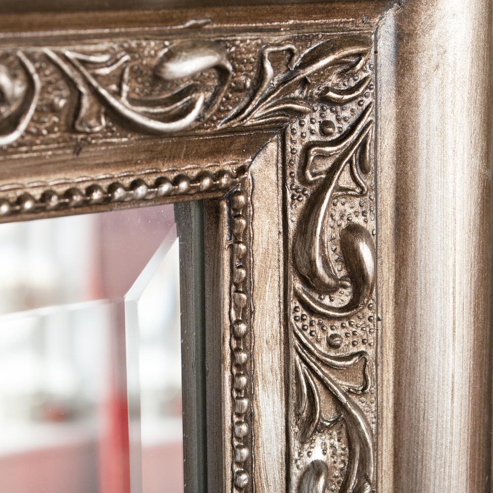 spiegel argento barock silber antik 90x70cm 5644. Black Bedroom Furniture Sets. Home Design Ideas