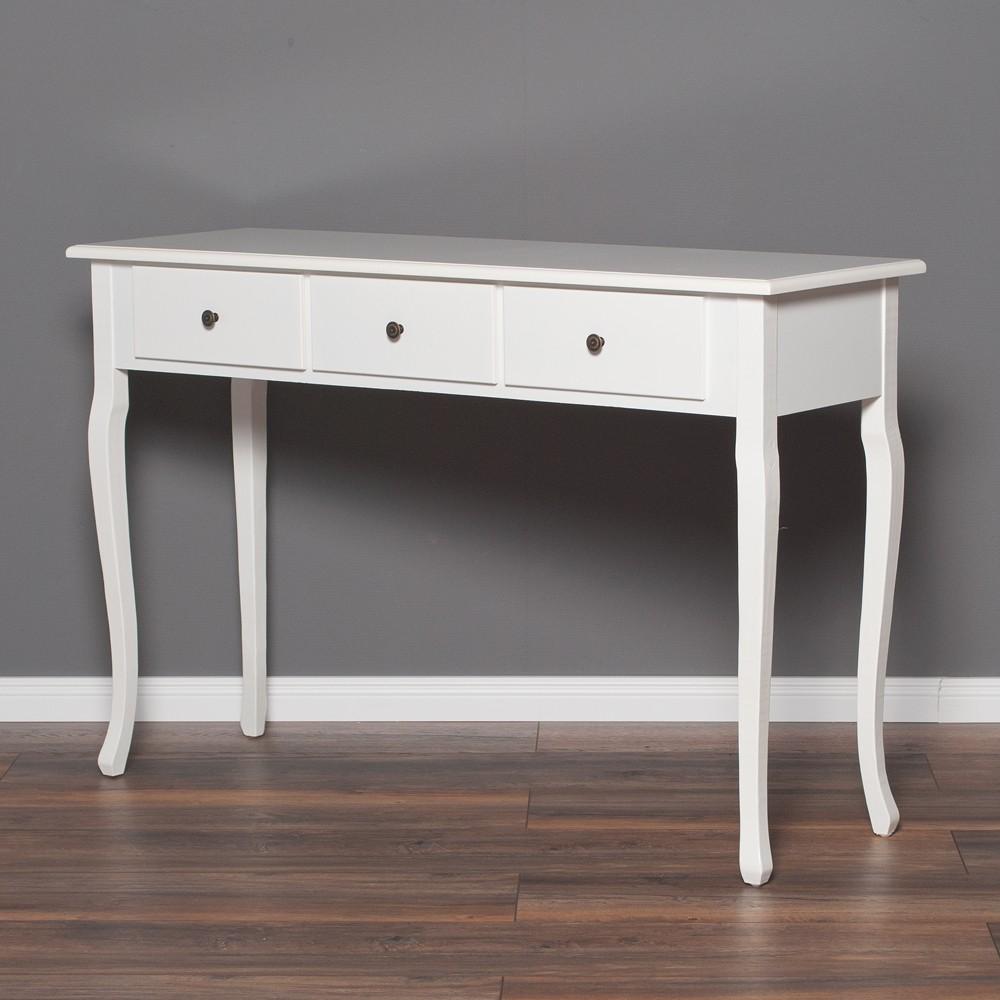 konsolentisch anny im landhausstil wei 5672. Black Bedroom Furniture Sets. Home Design Ideas