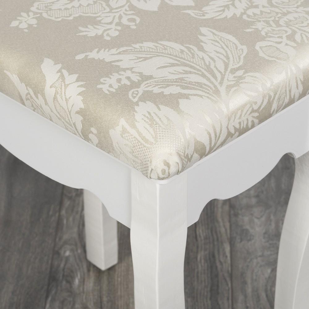 schminktisch hocker sitzhocker anny barock stuhl landhaus. Black Bedroom Furniture Sets. Home Design Ideas