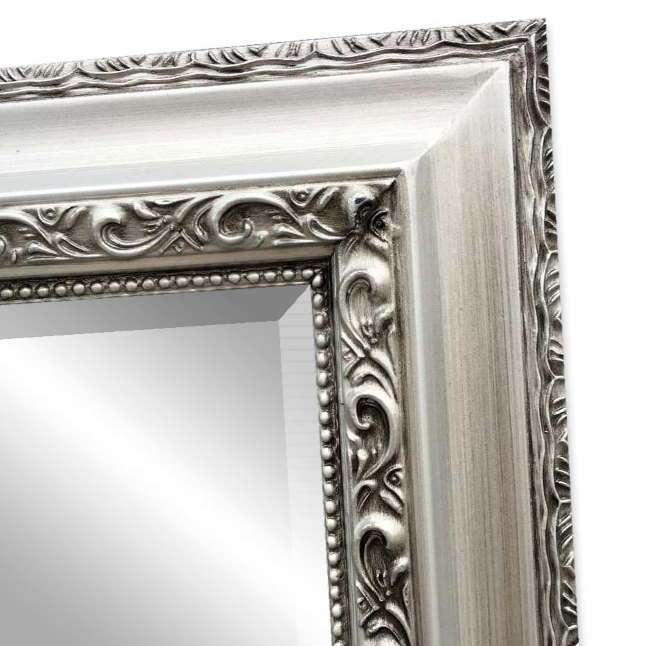 spiegel argenti barock silber antik 50x40cm 5694