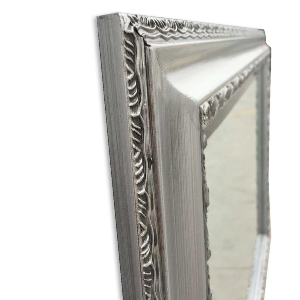 spiegel argenti barock silber antik 50x40cm 5694. Black Bedroom Furniture Sets. Home Design Ideas