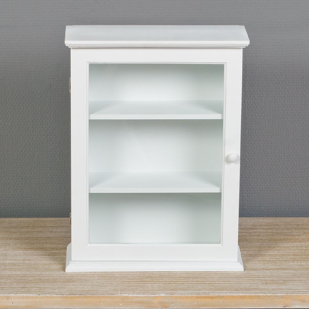 kleines schr nkchen lara im landhausstil wei 6090. Black Bedroom Furniture Sets. Home Design Ideas