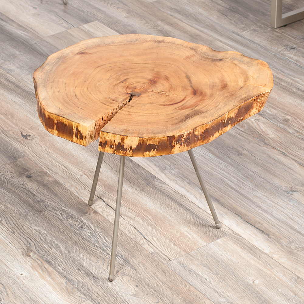 designer beistelltisch couchtisch gringo akazie massivholz. Black Bedroom Furniture Sets. Home Design Ideas