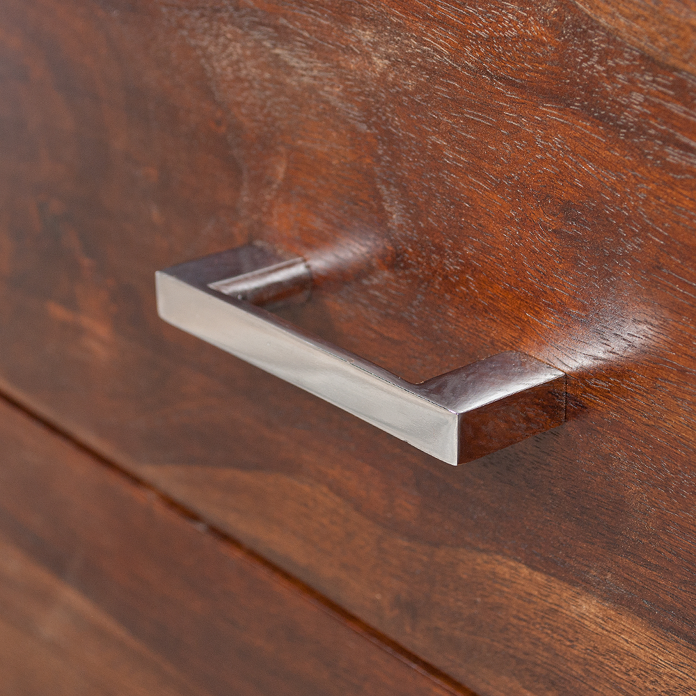 sideboard moda aus massivem palisanderholz sheesham dark m kommode tv board ebay. Black Bedroom Furniture Sets. Home Design Ideas