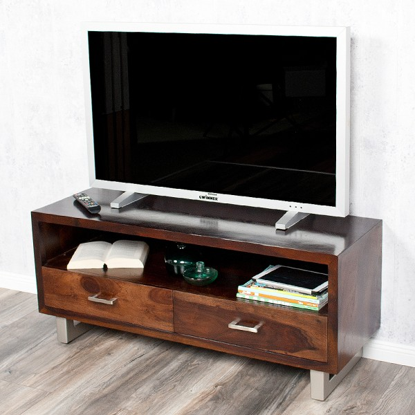 TV-Board MODA 115cm Palisander / Sheesham Dark-M  – Bild 1