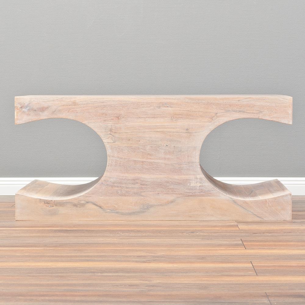 couchtisch lahar akazie white washed 90x60cm massivholz. Black Bedroom Furniture Sets. Home Design Ideas