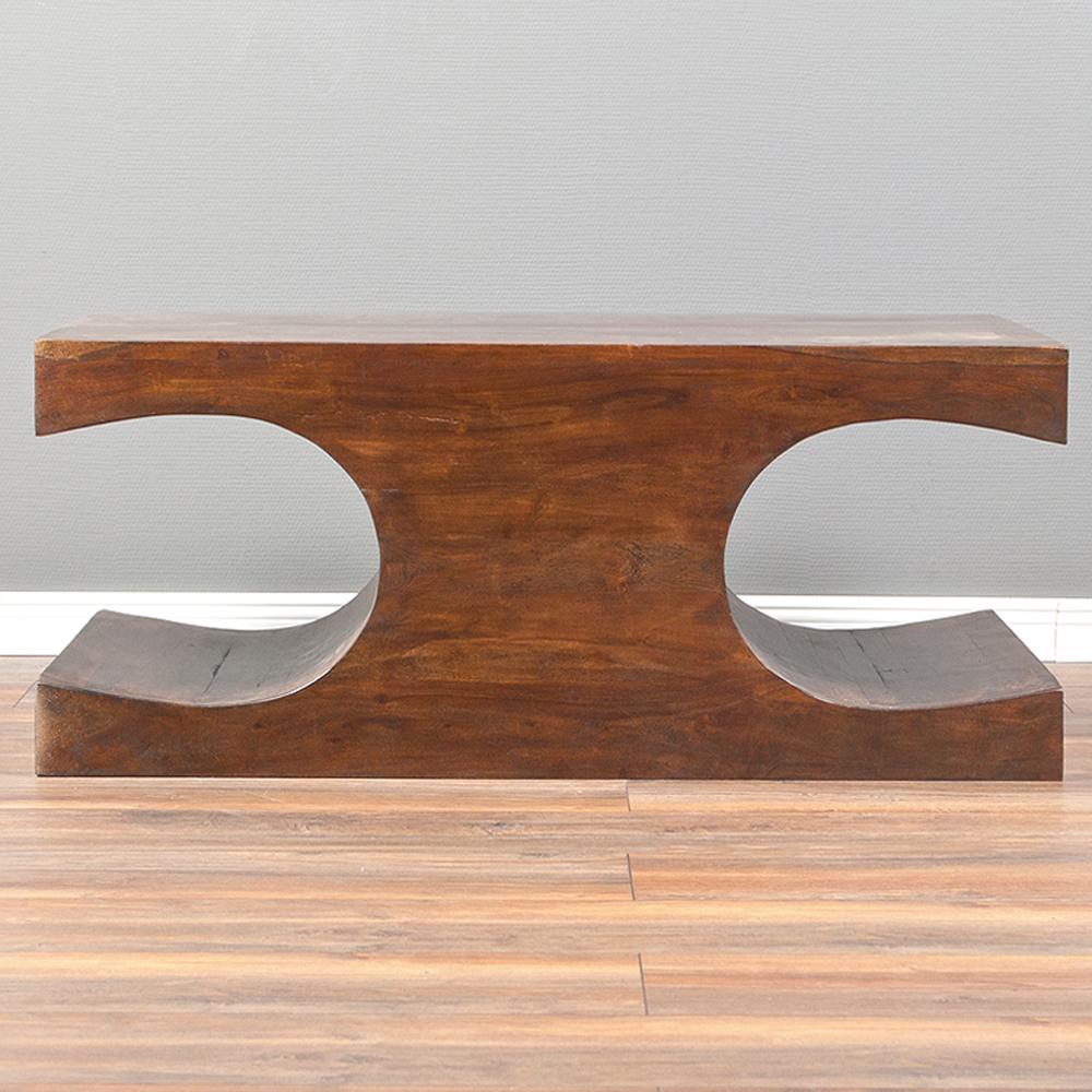 couchtisch lahar akazie dark brown a 90x60cm massivholz. Black Bedroom Furniture Sets. Home Design Ideas