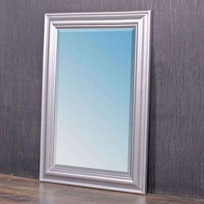 Spiegel ONDA 90x70cm silber 6210