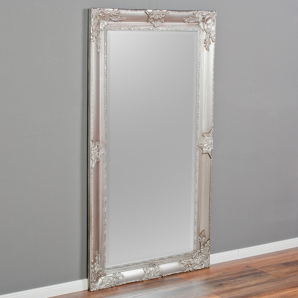Spiegel marlon xl silber 180x100cm 6325 for Spiegel 80 x 180