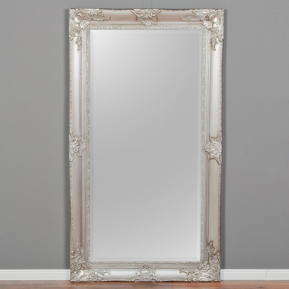 Spiegel marlon xxl silber 200x110cm 6328 - Spiegel x ...