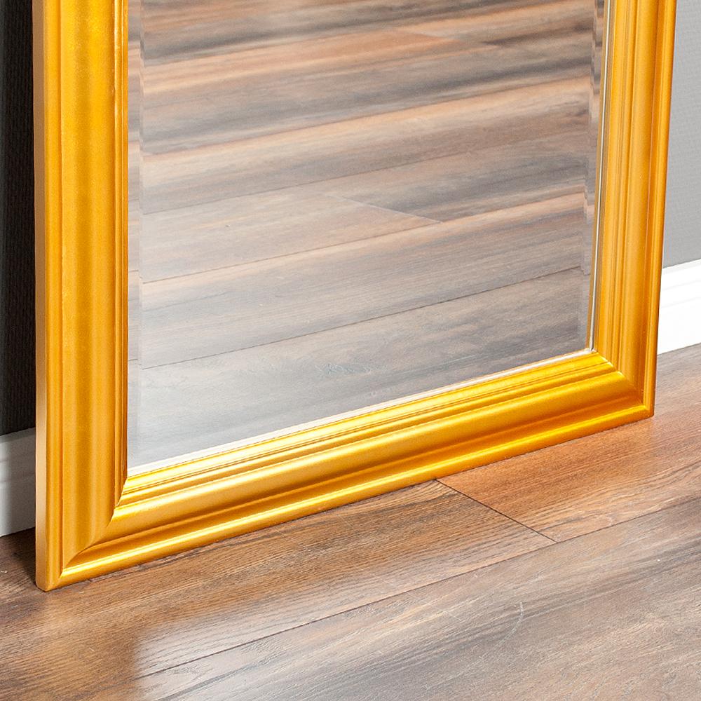 spiegel onda 160x60cm glanz gold 6334. Black Bedroom Furniture Sets. Home Design Ideas