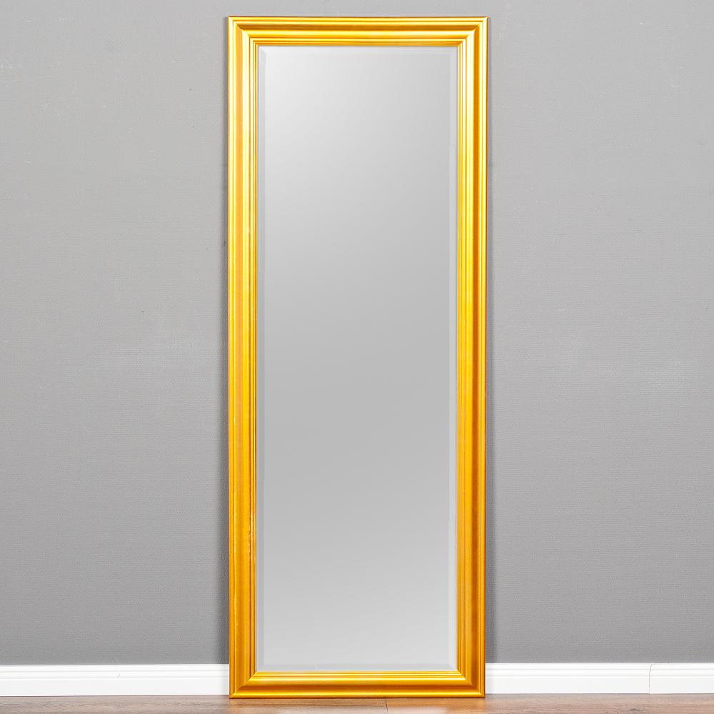 B ware wandspiegel onda 160x60cm glanz gold spiegel for Spiegel 160x60