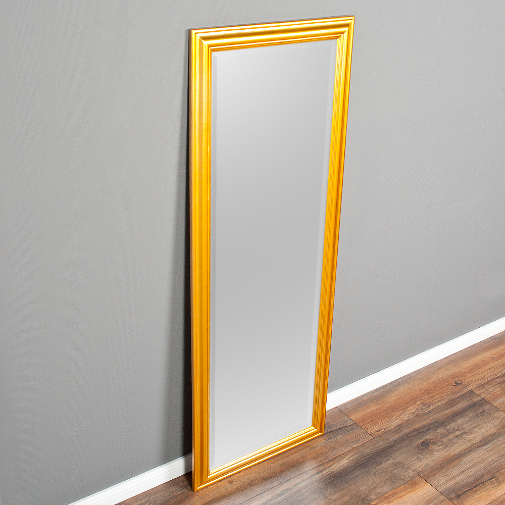 Spiegel onda 160x60cm glanz gold 6334 for Spiegel 160x60