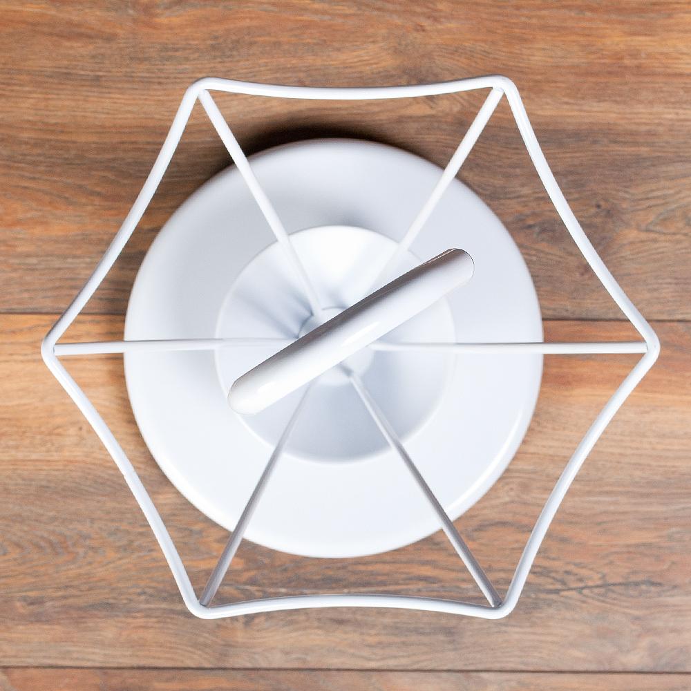 schirmst nder tilo wei metall schirmhalter. Black Bedroom Furniture Sets. Home Design Ideas