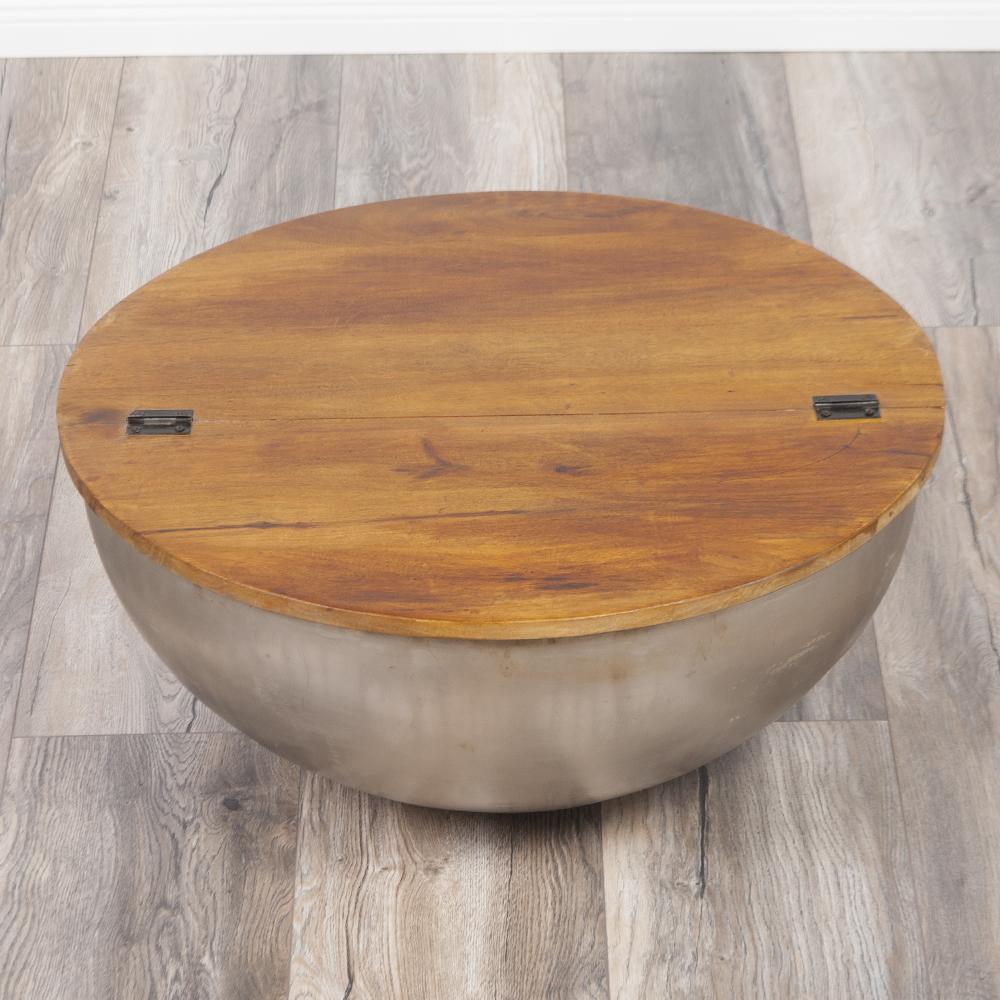 Couchtisch beistelltisch basni 70cm in stone s aus for Beistelltisch 70 cm