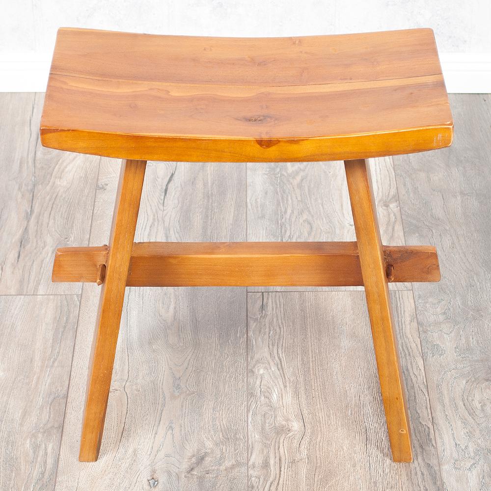 teakholz hocker massiv beautiful hocker massiv holz natur. Black Bedroom Furniture Sets. Home Design Ideas