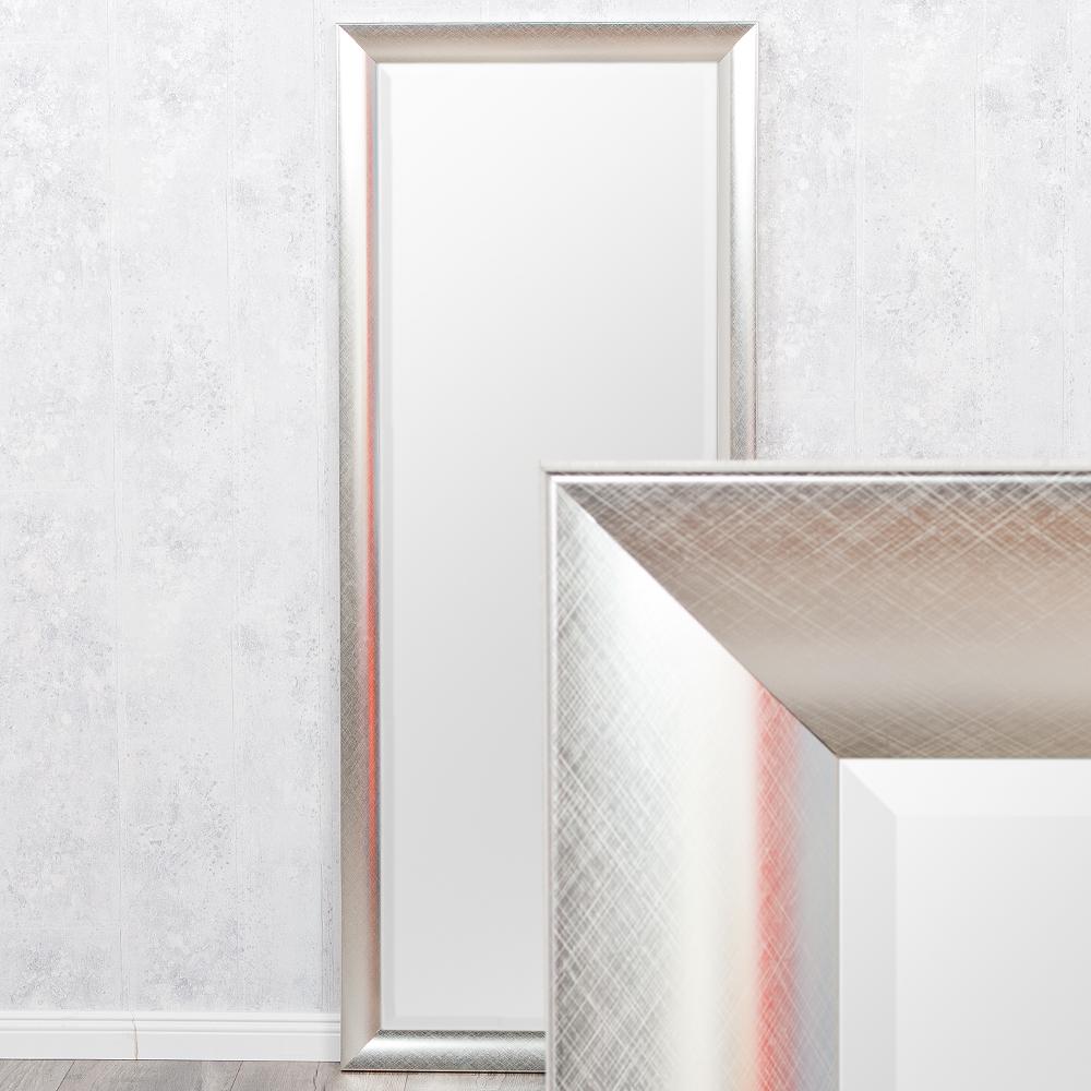 spiegel pina silber 150x60cm 6537. Black Bedroom Furniture Sets. Home Design Ideas