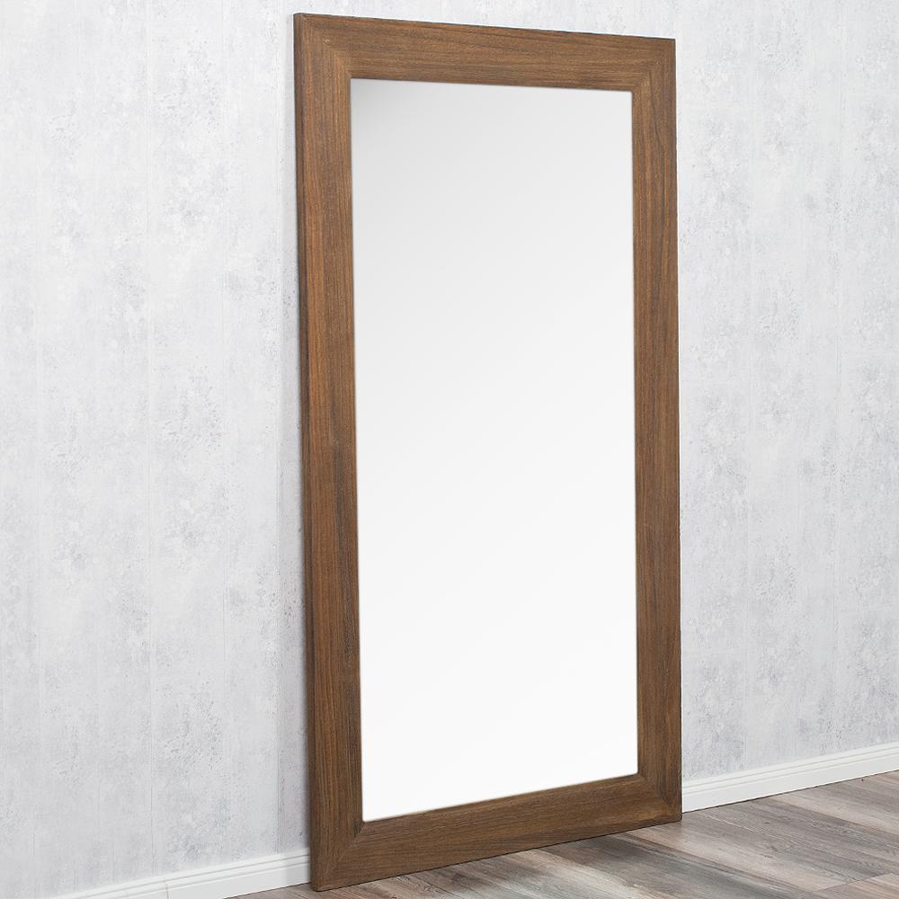spiegel linda 200x110cm dark natural blauglockenbaum holz. Black Bedroom Furniture Sets. Home Design Ideas