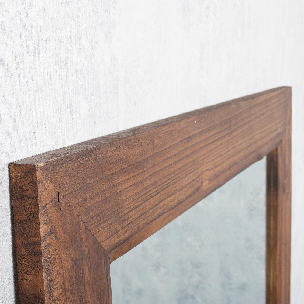spiegel linda 180x100cm flamed wood blauglockenbaum holz. Black Bedroom Furniture Sets. Home Design Ideas