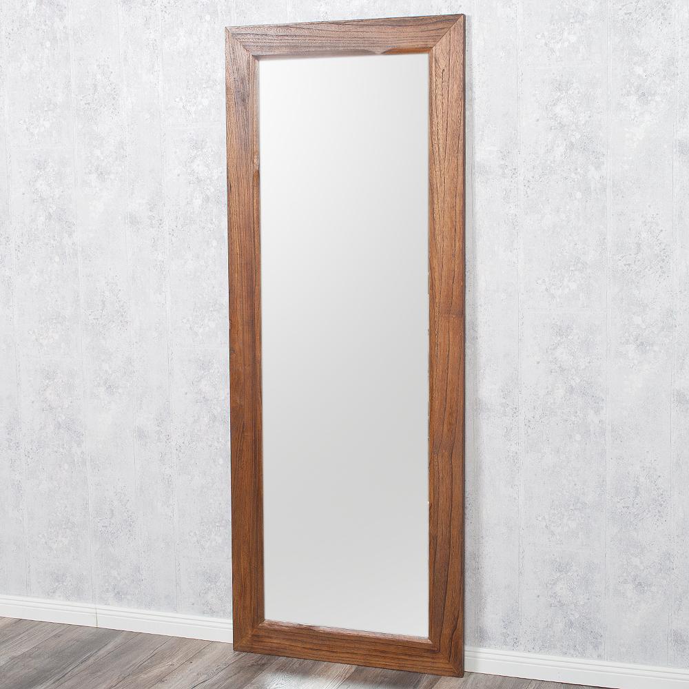 spiegel linda 180x70cm flamed wood blauglockenbaum holz. Black Bedroom Furniture Sets. Home Design Ideas