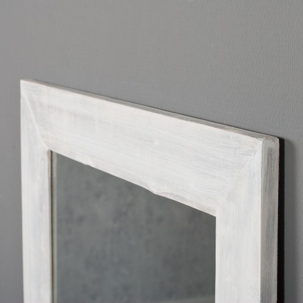 spiegel linda 180x70cm white washed vintage blauglockenbaum holz massiv 6551. Black Bedroom Furniture Sets. Home Design Ideas