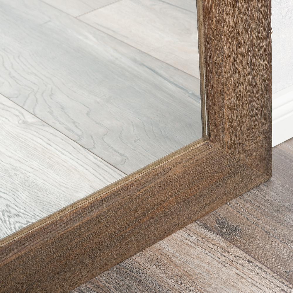 spiegel linda 160x60cm dark natural blauglockenbaum holz massiv 6552. Black Bedroom Furniture Sets. Home Design Ideas