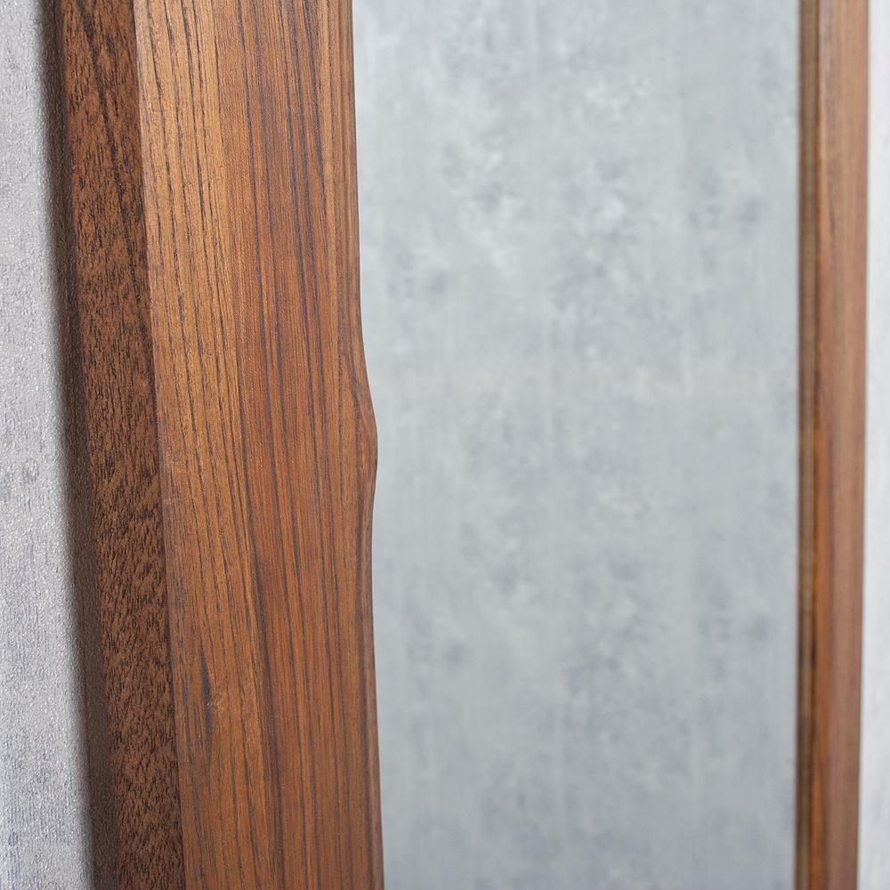spiegel linda 160x60cm flamed wood blauglockenbaum holz massiv wandspiegel ebay. Black Bedroom Furniture Sets. Home Design Ideas