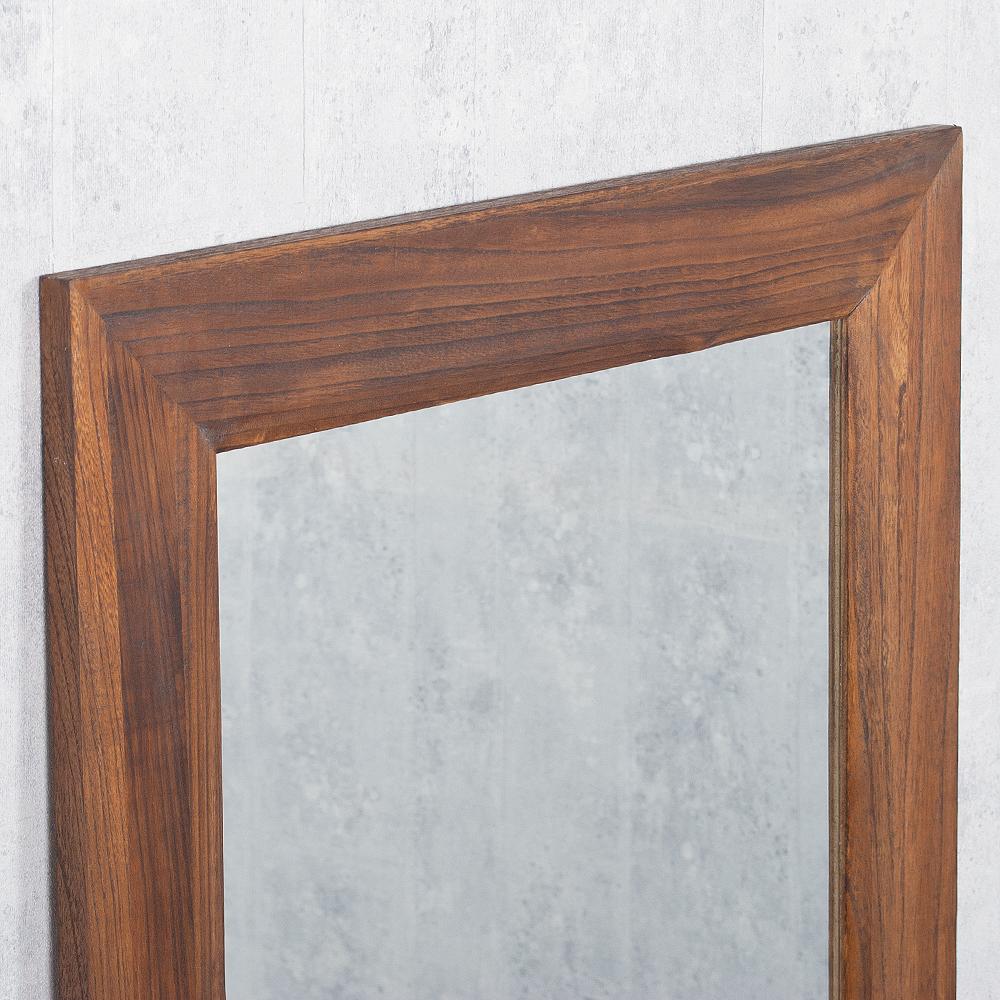 spiegel linda 160x60cm flamed wood blauglockenbaum holz massiv wandspiegel 4251105613282 ebay. Black Bedroom Furniture Sets. Home Design Ideas