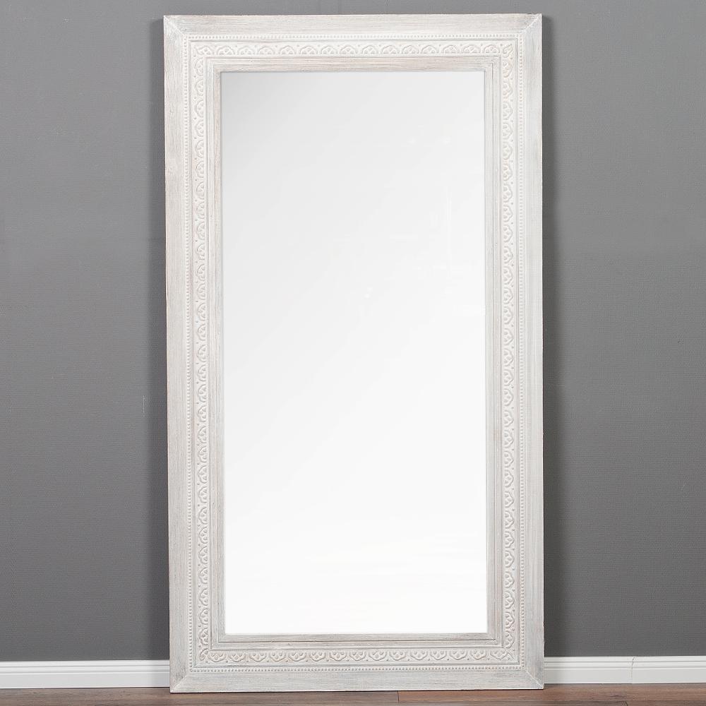 spiegel ruby 200x110cm white washed vintage. Black Bedroom Furniture Sets. Home Design Ideas