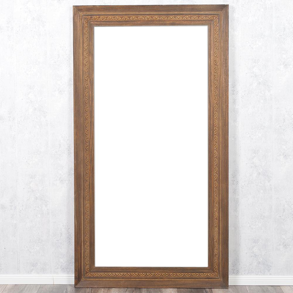 Spiegel ruby 180x100cm dark natural blauglockenbaum holz for Spiegel 200 x 100