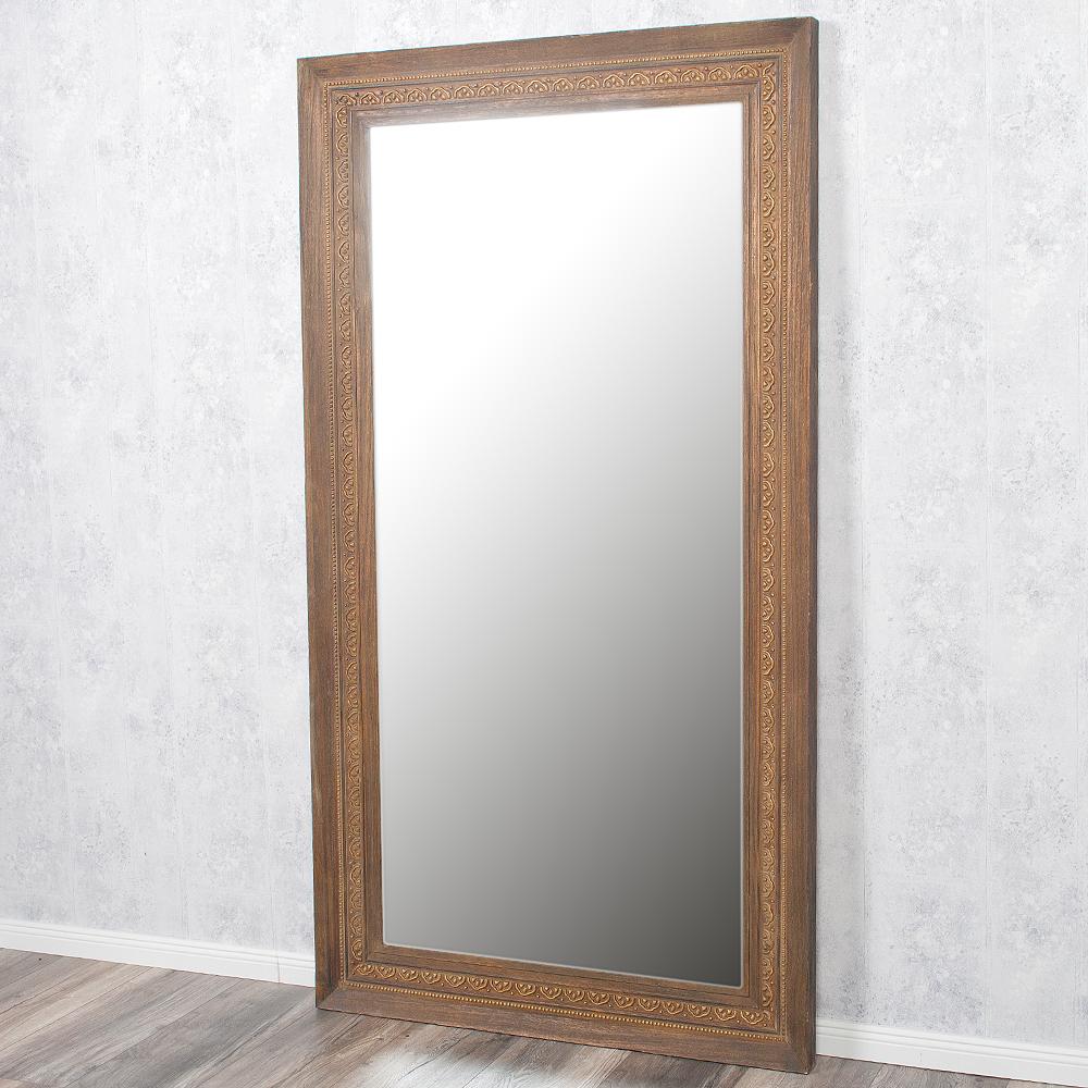 spiegel ruby 180x100cm dark natural blauglockenbaum holz. Black Bedroom Furniture Sets. Home Design Ideas