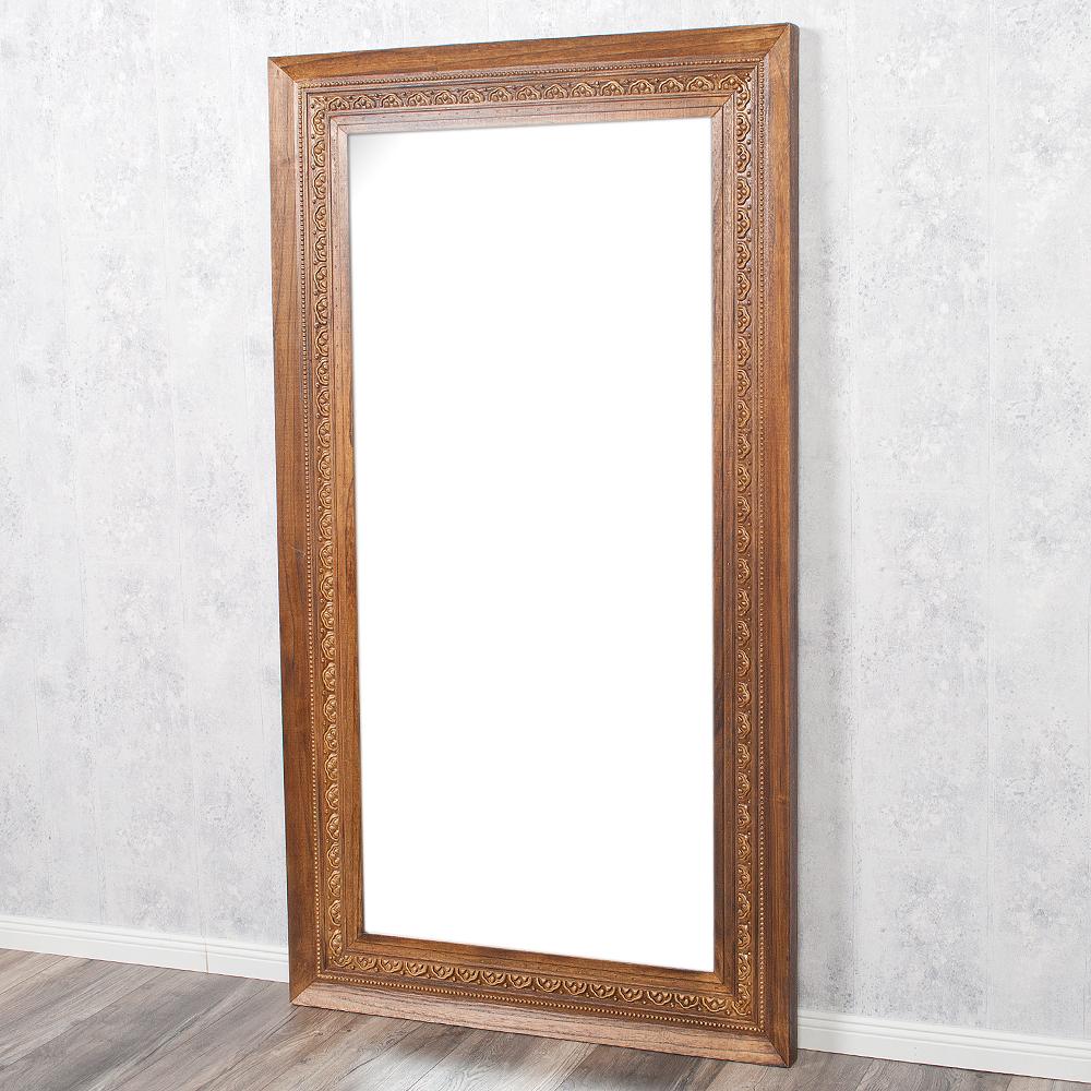 spiegel ruby 180x100cm flamed wood blauglockenbaum holz. Black Bedroom Furniture Sets. Home Design Ideas
