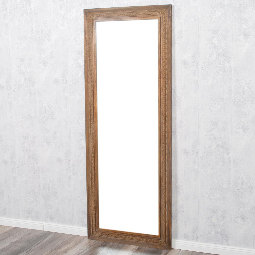 spiegel ruby 180x70cm dark natural blauglockenbaum holz massiv 6564. Black Bedroom Furniture Sets. Home Design Ideas