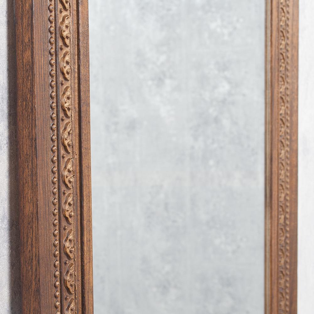 spiegel ruby 180x70cm flamed wood blauglockenbaum holz massiv 6565. Black Bedroom Furniture Sets. Home Design Ideas