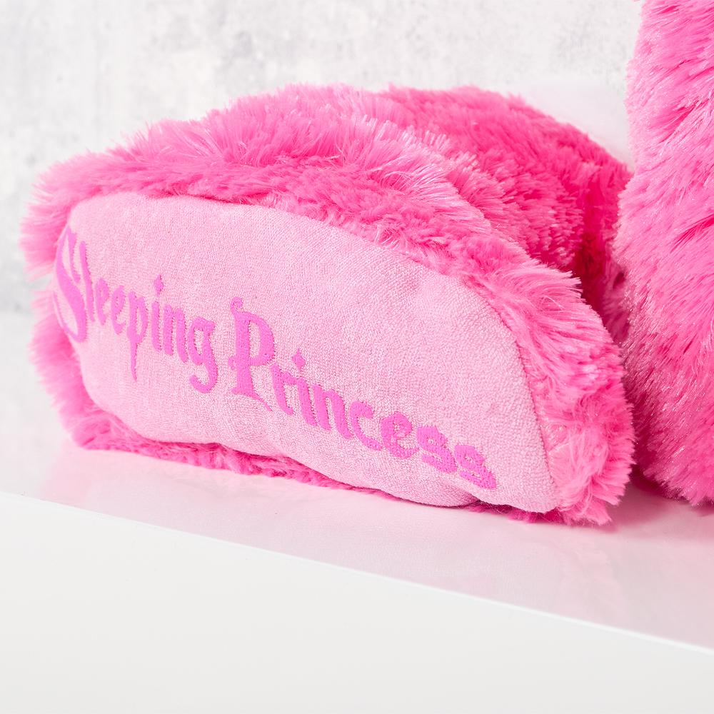 kinder hausschuhe bettschuhe sleeping princess gr e 30 32 6606. Black Bedroom Furniture Sets. Home Design Ideas