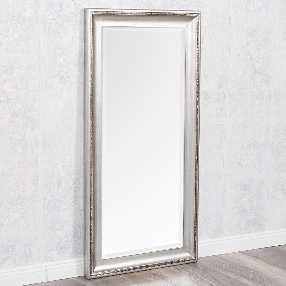 spiegel copia 100x50cm silber antik wandspiegel barock 6686. Black Bedroom Furniture Sets. Home Design Ideas
