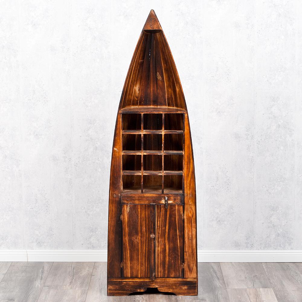bootsregal weinregal pintu geflammt 150cm regal. Black Bedroom Furniture Sets. Home Design Ideas